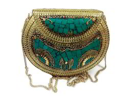 Stylish Fashionable Ladies Metal Bag