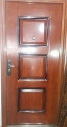 Solid Teak Wood Door, For Home, Hotel, Size: 6*3.5 Feet