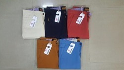 Plain Men Various Brand Cotton Chinos