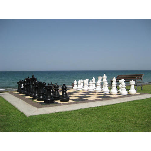 Hdpe Plastic Giant Outdoor Chess Set