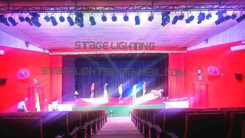 Stage lights auditorium led lights manufacturer from new delhi