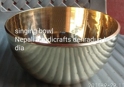 Original And Printed Bornze Brass Mix Nepali Handicrafts Singing