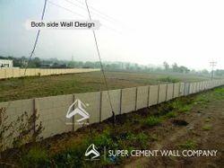 Folding Concrete Compound Wall