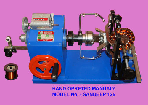 Manual Standard Hand Opreted Ceiling Fan Winding Machine