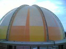 Multicolor FRP Domes