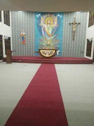 Brown Carpet Rolls, For Floor, Size: Multiple