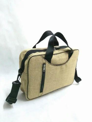 9c991c45e1 VISION Laptop Bag Jute Conference Bag