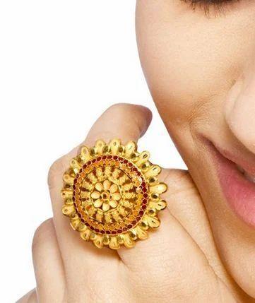 Gold Rings Sone Ki Angoothi स न क अ ग ठ Senco