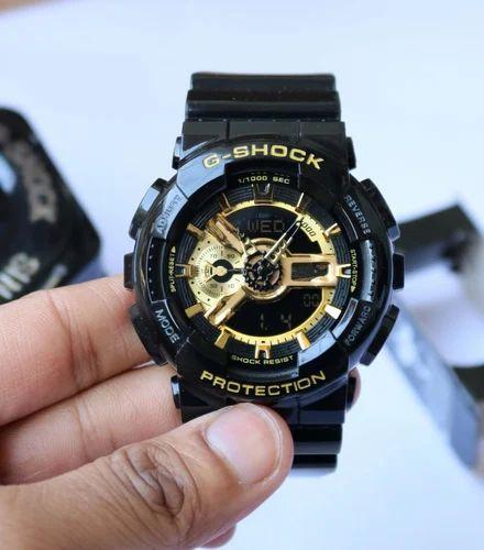 de174e27677f9 Black Gold G Shock 7a Quality Watches