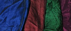 2 Tone Velvet Fabrics
