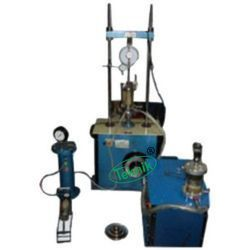 Electronic Triaxial Shear Test Apparatus