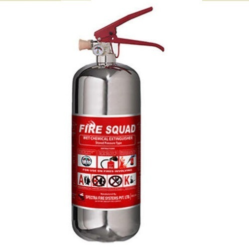 2Ltr Wet Chemical K Type Kitchen Fire Extinguisher, Wet Chemical ...