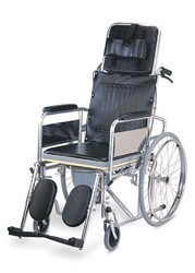 Recliner Commode Wheelchair