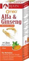 Omeo Alfa Ginseng Sugar Free Syrup