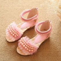 Pink Pearl Party Sandals