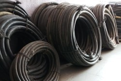 marine cabal Black High Voltage Electric Cable