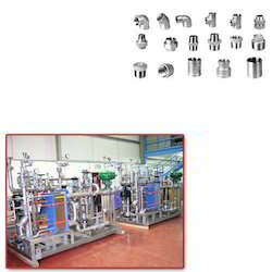 Pipe Fittings for Pharma Units
