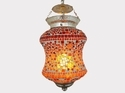 Deshilp Overseas Acc To Standard Colourful Mosaic Hanging Light