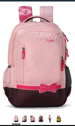 7b6ae0855 Unisex Pink And Blue Skybags Backpacks