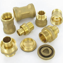 JK Tools Brass Turned Component, For Industrial, Gold
