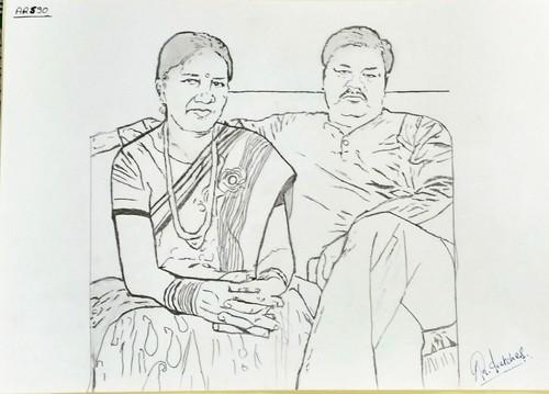Pencil sketch a4 size