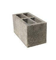 Concrete Block Rectangular Concrete Hollow Block, Size: 16 In. X 8 In. X 8In., for Side Walls