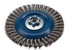 Full Cable Twist Knot Wire Wheel Brush