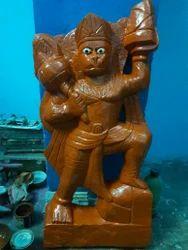 Red Stone Hanuman Ji