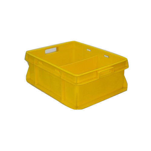 Yellow Plastic Crates, Capacity: 7 Litres