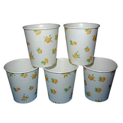 paper disposable paper cup rs 0 46 piece krishna industries id