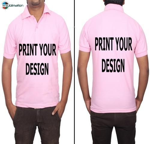 Poly Cotton T Shirt For Sublimation Printing Heat Press