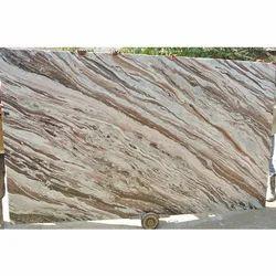 White Brown Bidasar Rainforest Marble