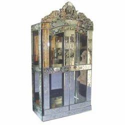 Stainless Steel Venetian Mirror Cupboard