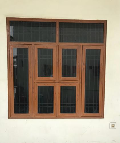Iron Pipe Window