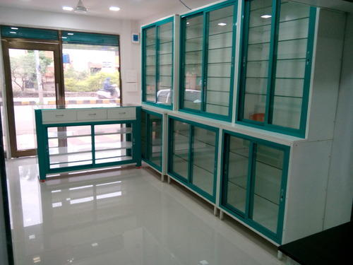 medical store display racks for office rs 17900 unit