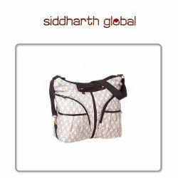 Beige Siddharth Cotton Diaper Bag