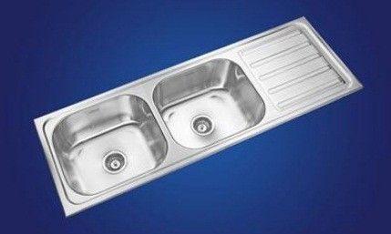Neelkanth Kitchen Sinks, Gloss Finish, NK DBSD19 G/M - Atlantic Tile ...