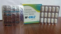 Elemental Calcium 500 Mg Vit. D3 200 I.U Zinc 4 Mg Tablets