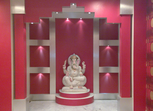 Temple Interior Designing Services in Kolkata, Perspective | ID ...