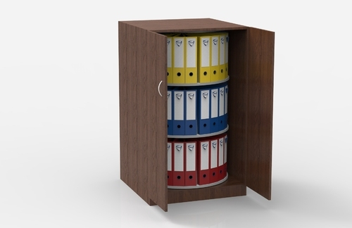 Revolving File Storage Rack