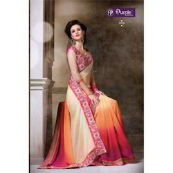Purple Creation Sarees