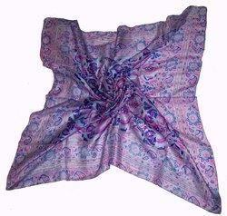 Silk Printed Pocket Square Scarves