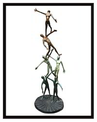 Teamwork Sculpture