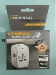 Travel Adapter with 2 USB