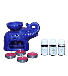 Aroma Oil Elephant Diffuser Set