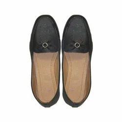 Black, Red Ladies Footwear, Size: 6