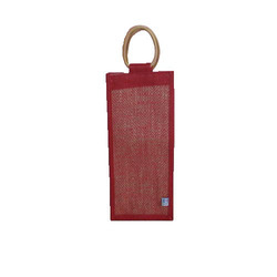 Single Jute Bottle Bag