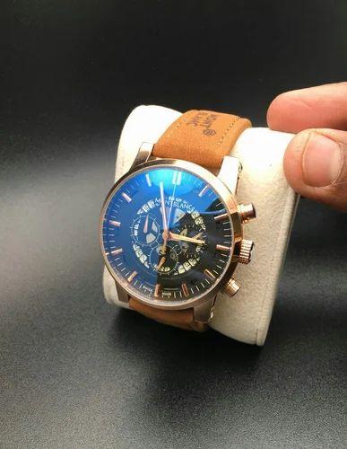 9b7fe561d17 Brown Aluminium Montblanc Watch, Montblanc Wrist Watch, Rs 3600 ...