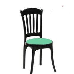 Affair Green Plastic Chair