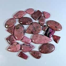 Rhodonite Loose Gemstone Mix Lot